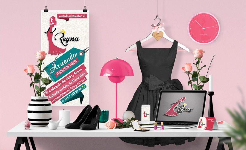 Diseño de Identidad Corporativa Reyna Rosado
