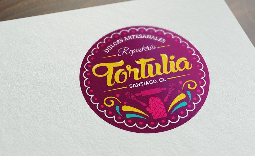 Diseño de logo Tortulia