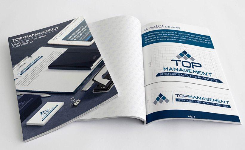 Manual de identidad corporativa Top Management