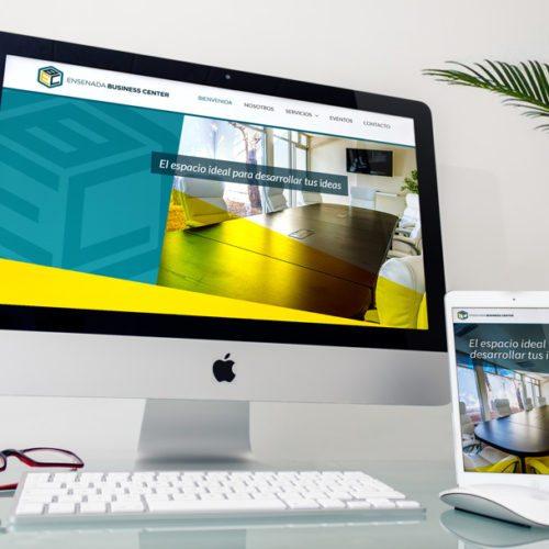 Diseño de página web Ensenada Business Center