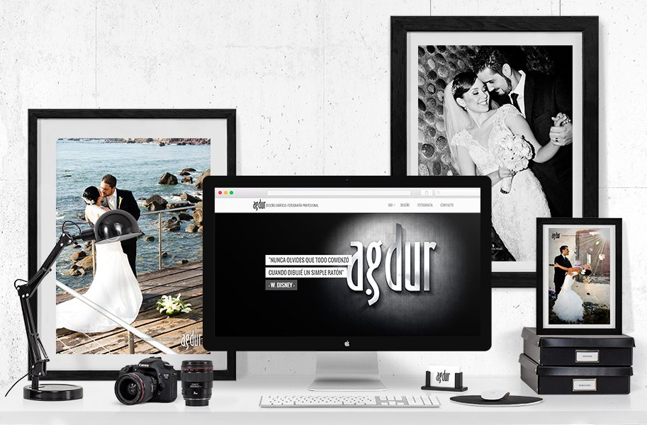 Diseño de página web agdur.com