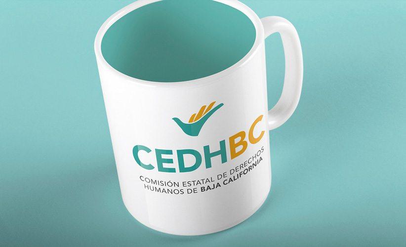 Diseño de logotipo CEDH Baja California