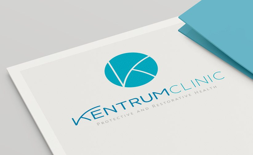 Diseño de logotipo Kentrum Clinic