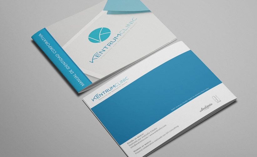 Manual de identidad corporativa Kentrum Clinic