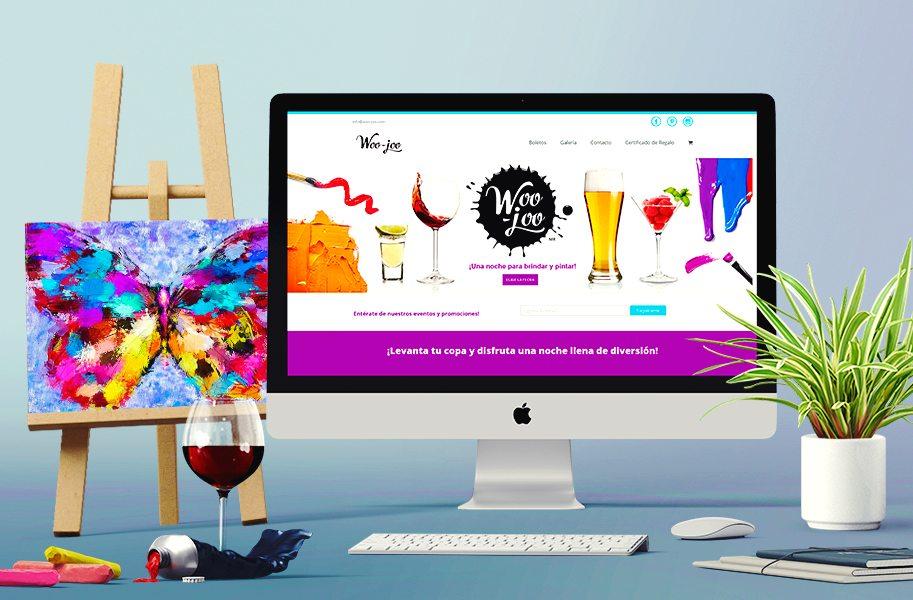 Diseño de página web tienda en línea Woo-joo.com